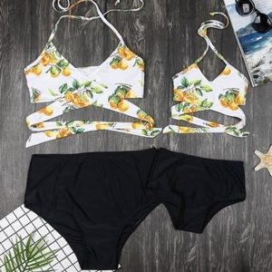 Wrap high waisted bikini